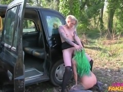 This pervert female taxi driver came up with a very good plan. She...