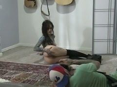 Punk rock slut Joanna Angel is very excited when she shoots sex scenes