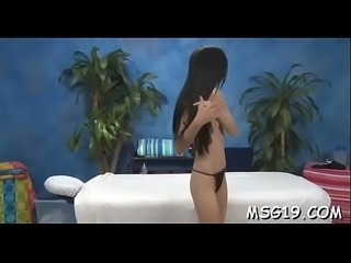 Deep vagina massage for hottie