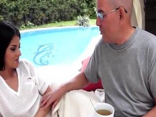19yo amateur banged by grandpa outdoors