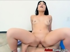 Asian Ex Girlfriend Rine Allis Riding On Dick Point Of View