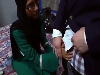 Arab actress Desperate Arab Woman Fucks For Money