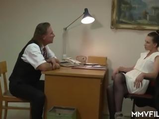 Banging the Skinny Milf Accountant
