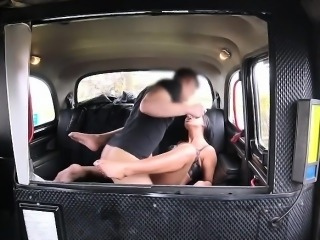 Sexy lady Tera Joy fucks in the car