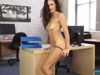 Hot exhibitionist Laura S is the sexiest colleague of your wettest dreams