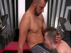 Gay fisting twinks movie Sub lovemaking pig  Axel Abysse crawls on