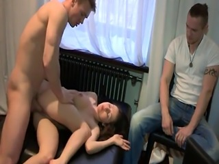 Cheating russian gf banged by stranger