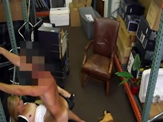 Amateur too rough Hot Milf Banged At The PawnSHop