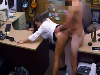 Cum on her perfect tits and ebony fake ass PawnShop Confession!