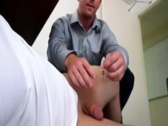 Straight guy cant sleep fun gay porn His boss is always interrupting h