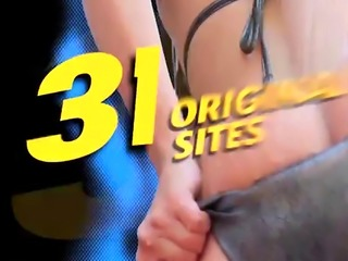 Milf Rebecca Jane teasing Jordi with her bountiful boobs