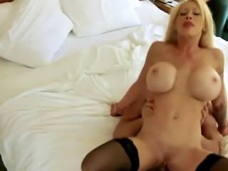 Cheating Blonde Stripper Fucked On Spy Camera In Bedroom