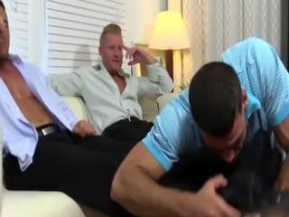 All soft cock gay porn movie Ricky Worships Johnny & Joey's Feet