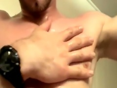 Lined up cocks dripping cum movie and nudist male on masturbation vide