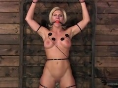 If you like to enjoy hot, sensual female bodies in hard metal bondage, then...
