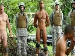 Free  army gay sex movie xxx Jungle smash fest
