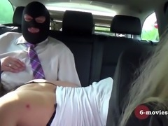 6-movies* - Hot car ride with a masked stranger -
