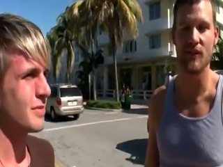 Red haired twink gay porn movie in this weeks out in public