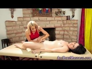 Fetish masseuse tasting
