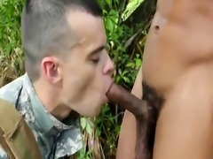 Free gay army thumbs Jungle plow fest