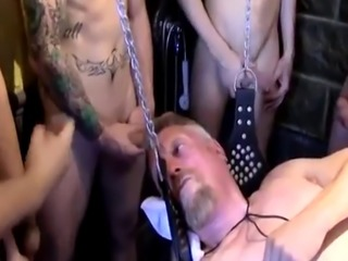 Boys getting fisted gay first time Post Fisting Session Jerk Off