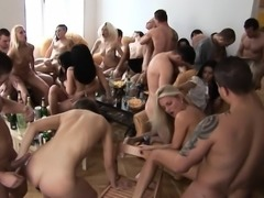 Cowgirl Riding at Private Home Party