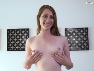 Stunning lady Nina Skye offers her body to an insatiable lover