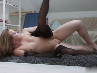 Sofi Goldfinger is an incredibly beautiful young blonde slut