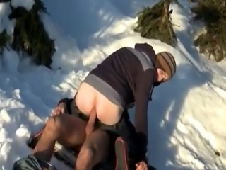 Half nude male gay porn movie first time Snow Bunnies Anal
