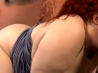 Redheaded Dirtbag Curvy Quinn Getting Her Face Ruined