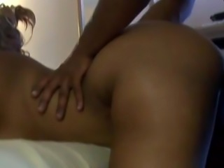 Big busty Ebony with huge ass slammed hard by a BBC