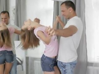 Teen Anal Gymnastics