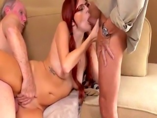 Hairy old fat fuck first time Frannkie And The Gang Take a Trip Down U