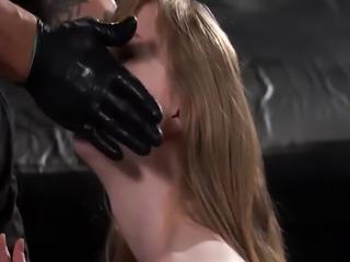 Old master bondage slave and bdsm female edging Back at Bruno's hi