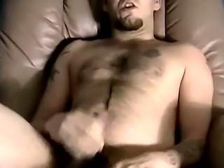 Amateur grandpa gay movie Brad arrives to wank out another torrid spun