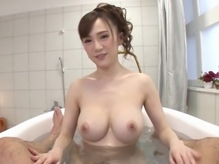 Cutie Mika Sumire wearing sexy underwear and having her clit boned
