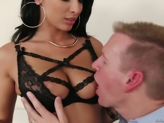 French MILF Anissa Kate is sinfully hot and she loves sex