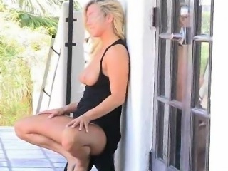 Embry Solo Blonde Amateur Masturbating With Fingers