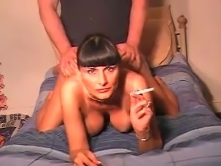 Smoking milf ass fucked talking dirty