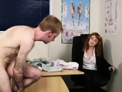 Slutty hottie gets cumshot on her face swallowing all the cr
