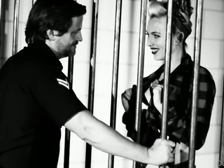 Jeanie Marie is a cock crazed girl willing to do anything to get out of jail
