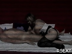 Horny fat older hooker fucks her big pussy with a dildo
