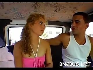 Group-sex bus full movie scene