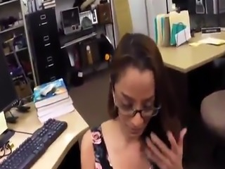 Bit tits hd fuck xxx College Student Banged in my pawn shop!