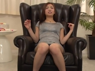She is ready to take a bunch of huge loads all over her pretty face. This sexy and erotic Japanese lady takes so much cum, that she can't even open her eyes. This teen is a true bukkake addict. She always needs sperm.