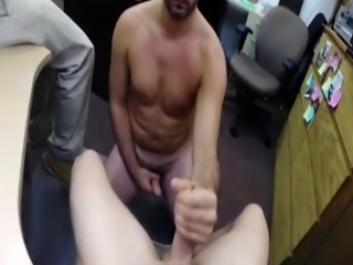 Eating my straight gay man jizz xxx Straight dude goes gay for cash he