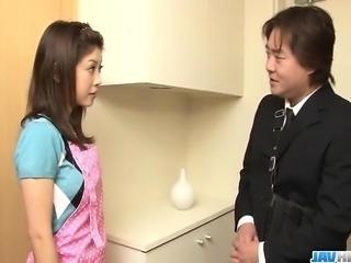 Time for Mafuyu Hanasaki to enjoy a good fuck