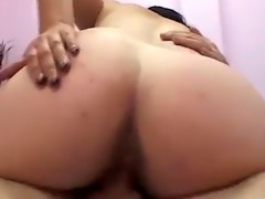 Pregnant slut cunt licked and filled by cock