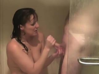 Sexxxy amateur shower fuck