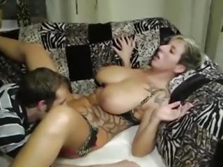 German Mature Big Tit